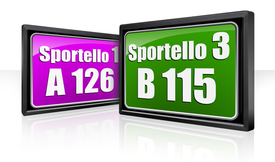 display di sportello eliminacode xidera